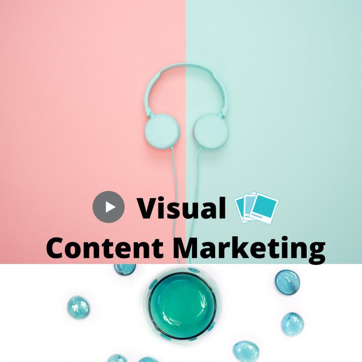 What are the types of visual content marketing and its importance?