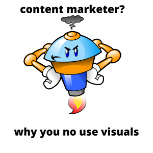 Visual product marketing