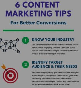 visual marketing tips