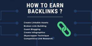How to earn backlinks