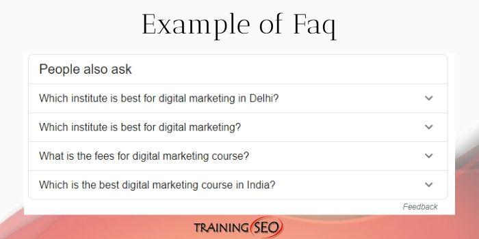 How Faq Works on Google